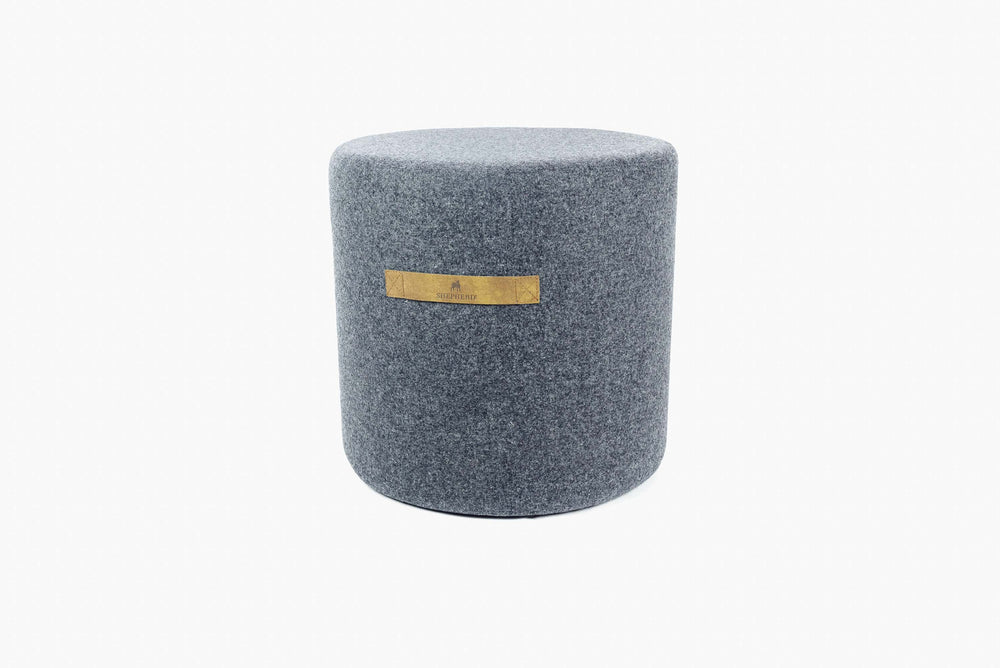 Shepherd of Sweden - Sara Wool Pouffe Round