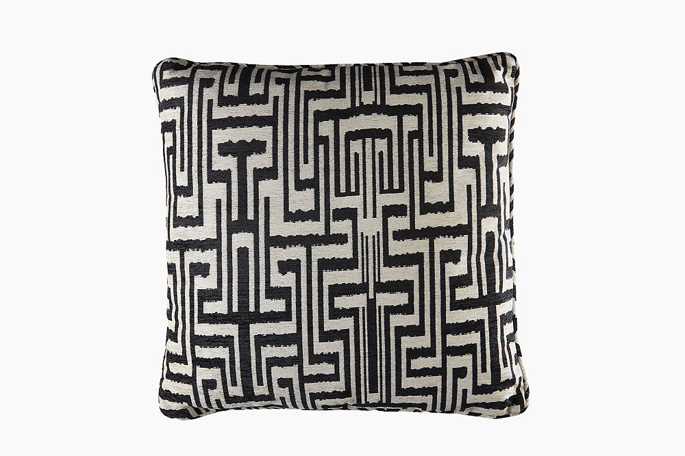 ozbek chenille monochrome cushion
