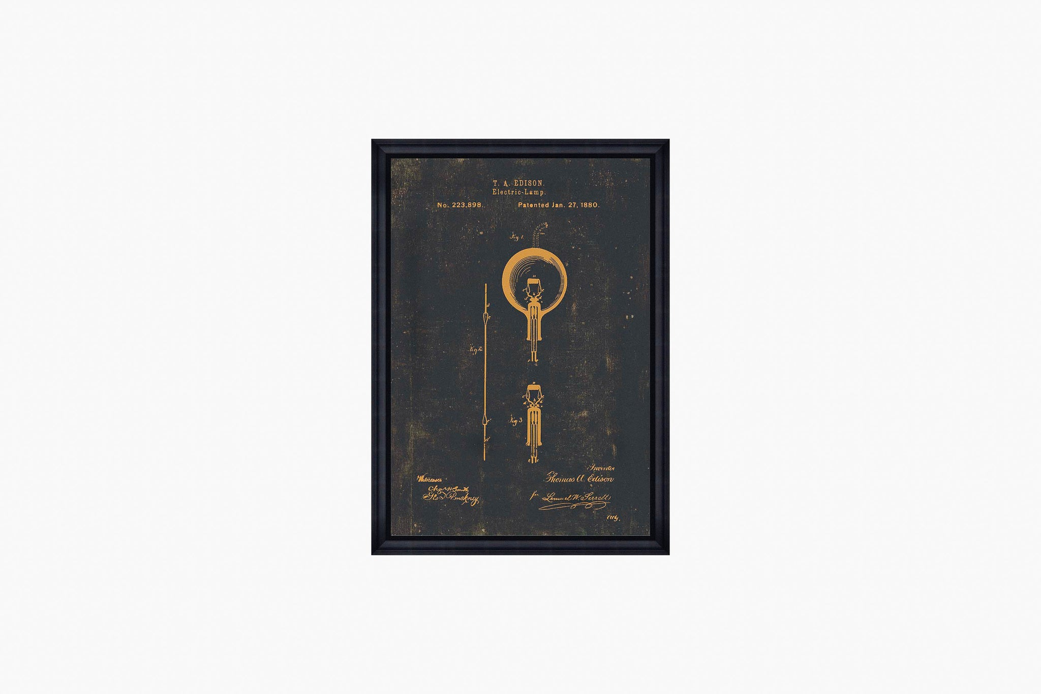 Edison Bulb Print by Mind The Gap