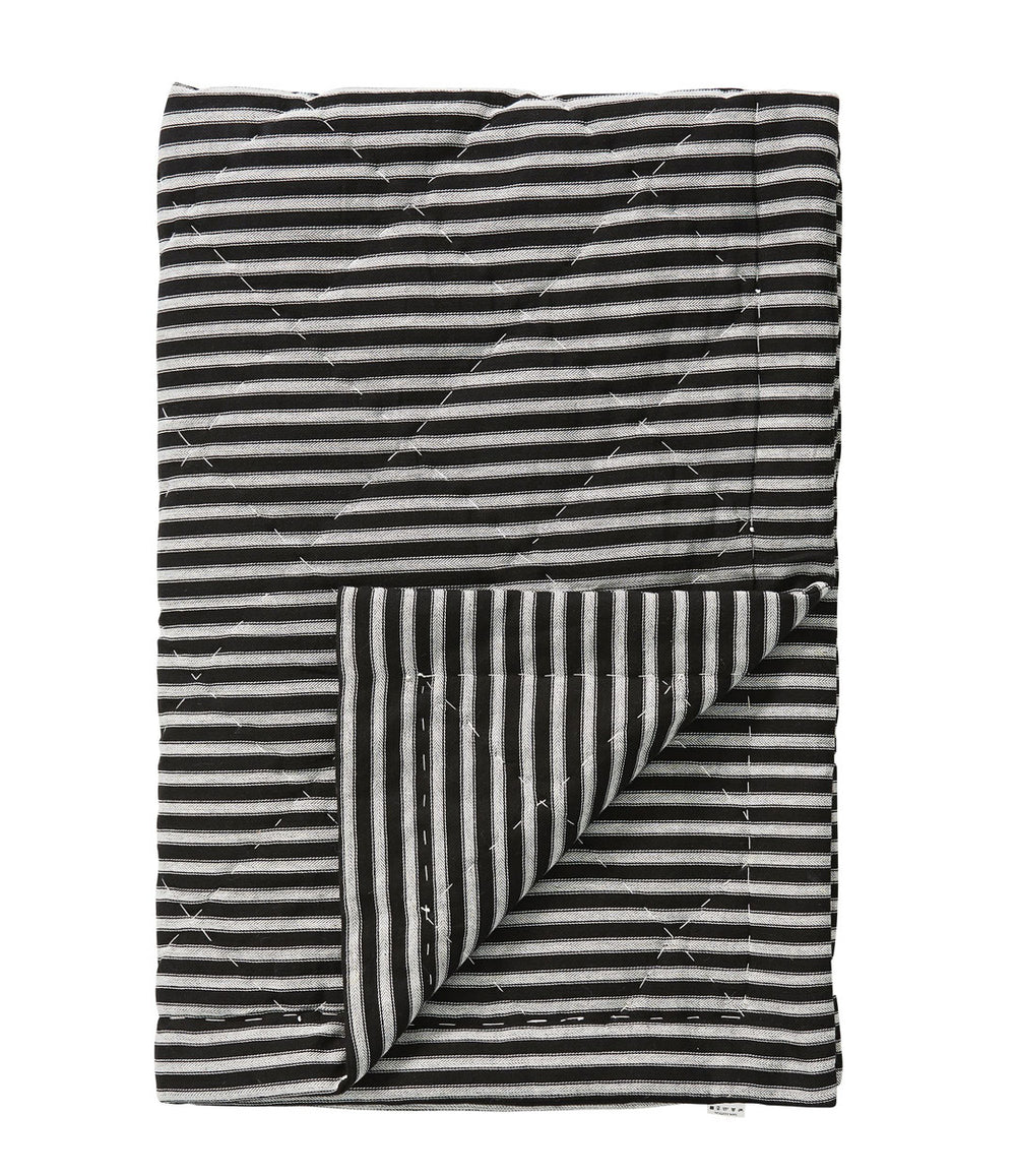 Black and white Garmine throw by Lene Bjerre