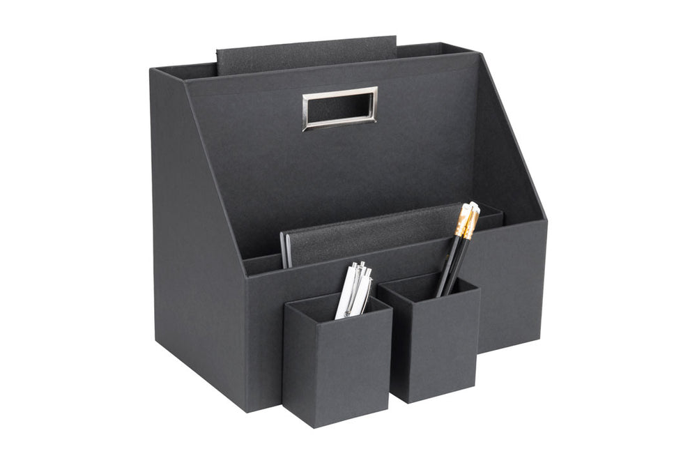 Hurry Desk Organiser in Charcoal grey