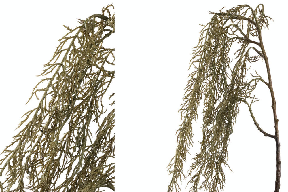 artificial hanging willow plant