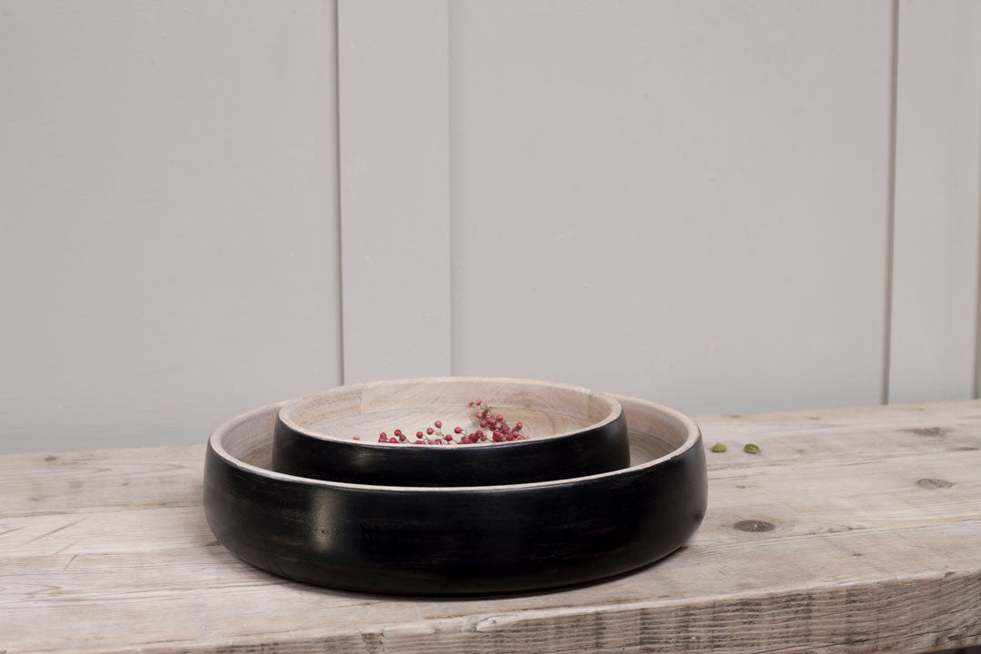 Kinuku Serving Bowl - Mango Wood