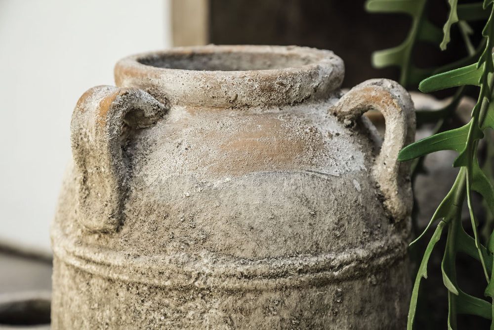 Rustic Natural Ceramic Pot