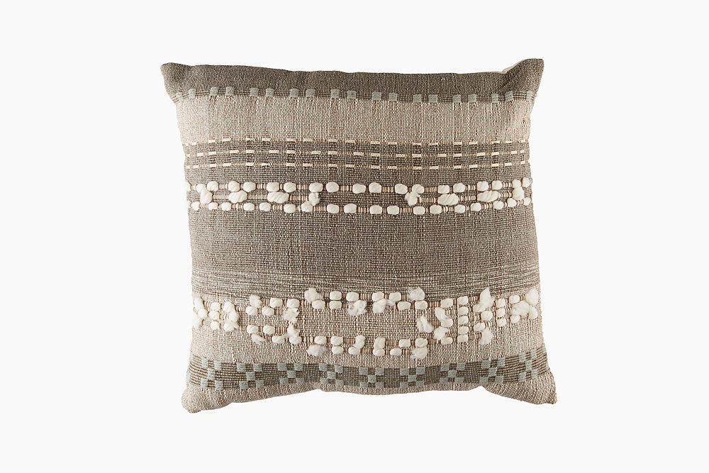 Khaki Style Cotton Cushion