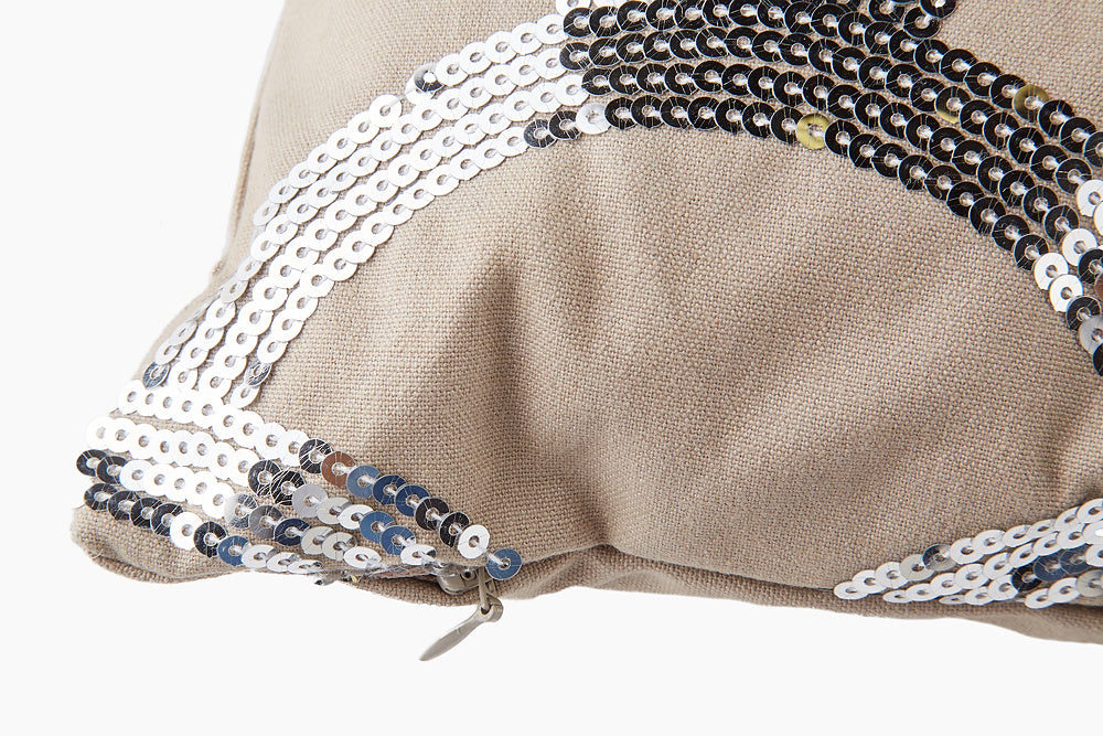 Lene Bjerre Sequinsia Cushion - Scallop