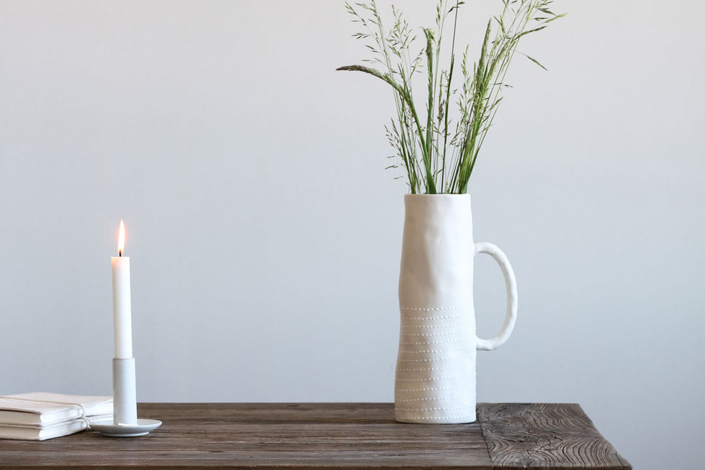 Lille Porcelain Vase in Three Colours