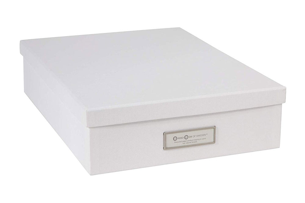 Oscar White document box