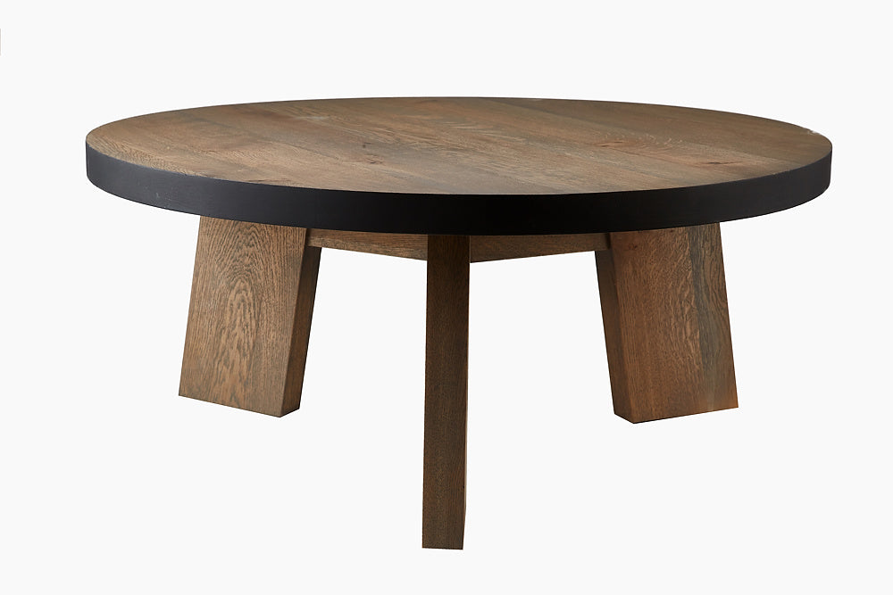 Wild Oak Coffee Table in Grey Finish