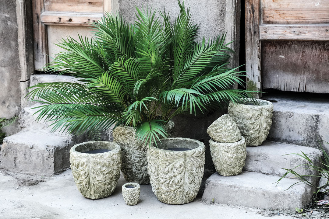 Green Palm Leaf Artificial Plant