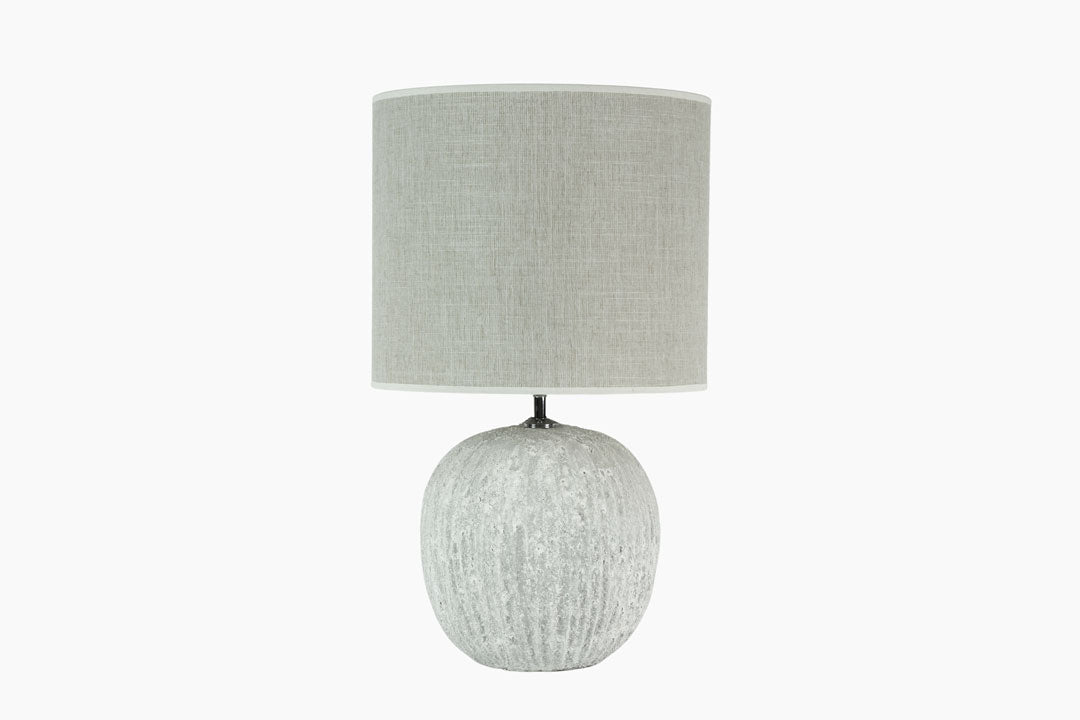 Stone White Table Lamp