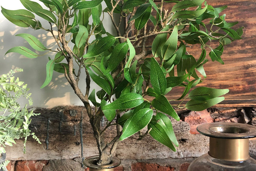 Green Ruscus Branch Artifical Plant