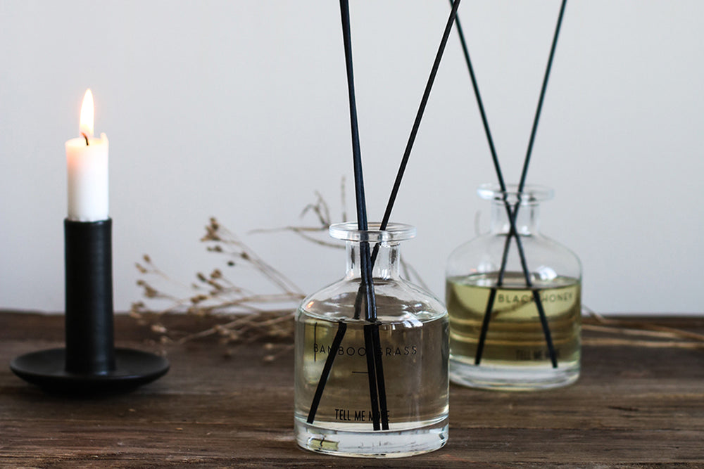 Bamboo Grass Reed Diffuser by Tell Me More