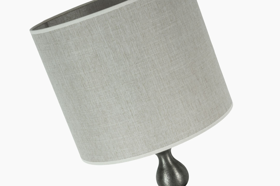 Nickel Table Lamp by Light and Living