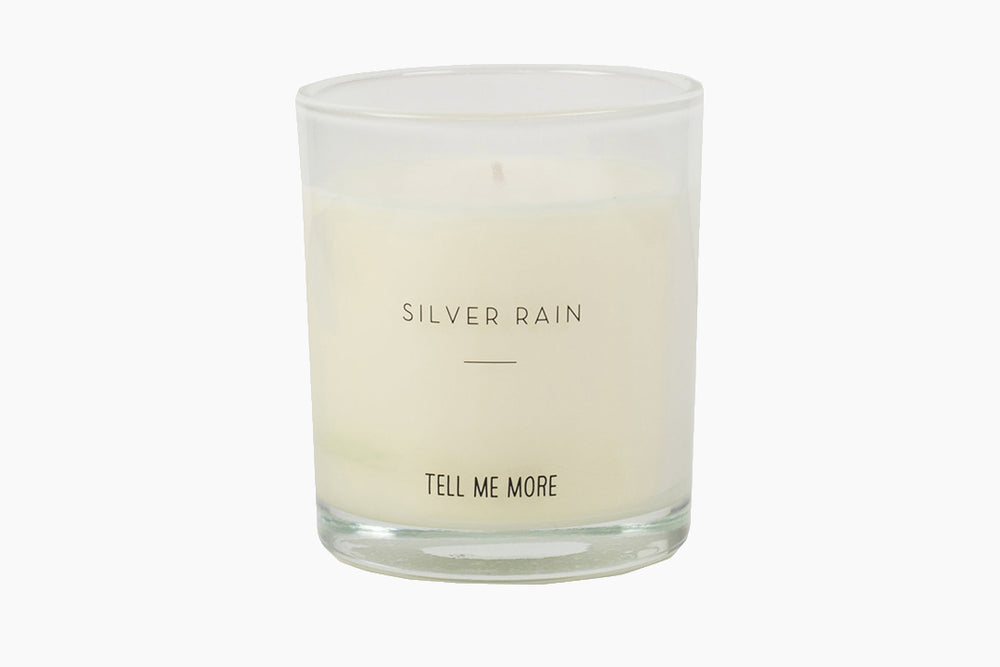 Silver Rain Scented Candle by Tell Me More