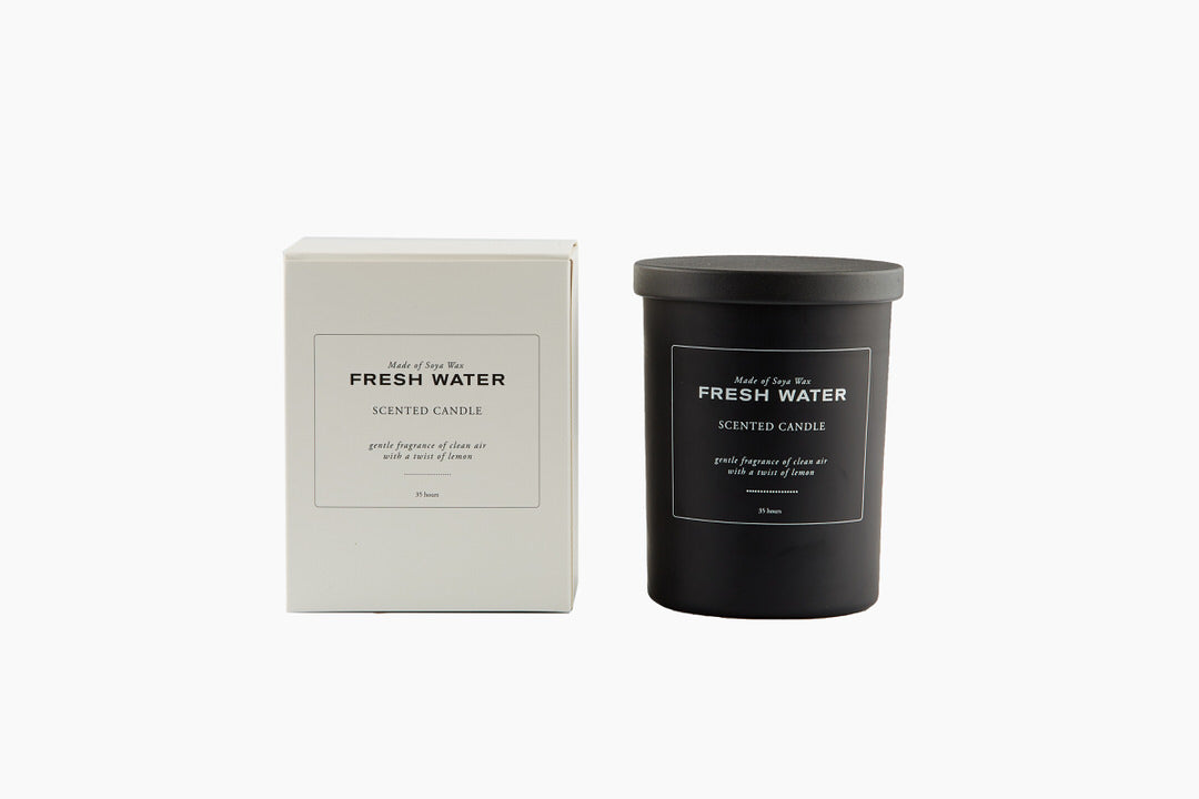 Fresh Water Scented Candle