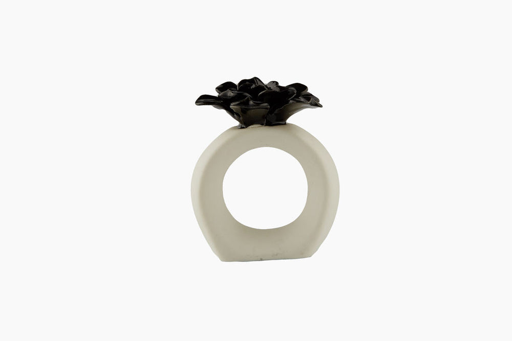 Water Lily Napkin Ring by On Interior