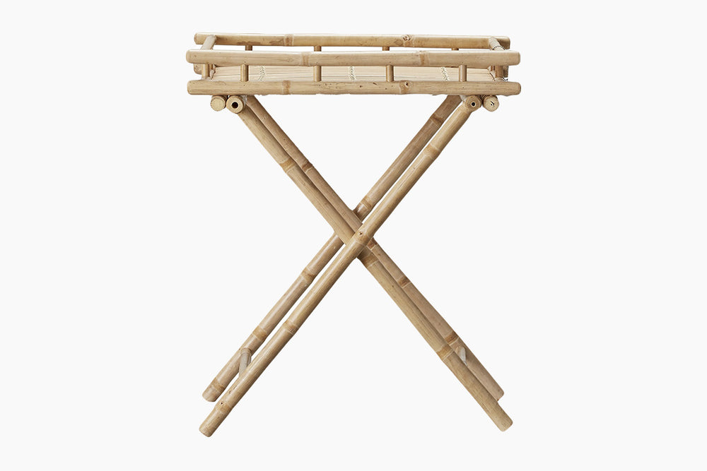 Mandisa Bamboo Side Table by Lene Bjerre