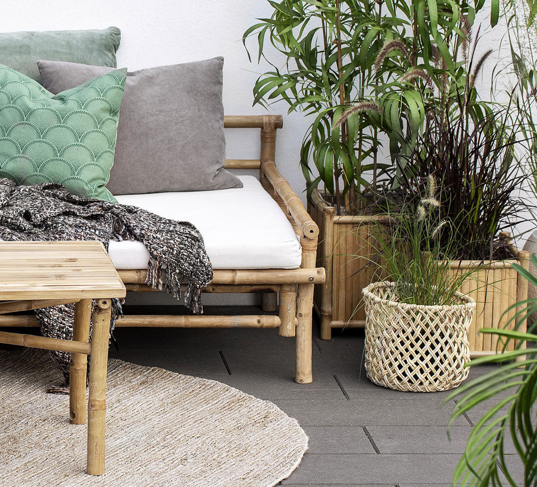 Mandisa Bamboo Planter Set by Lene Bjerre