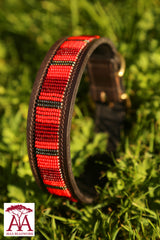 Dog Collar in red
