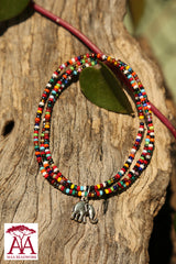 Multicoloured Charm Bracelet