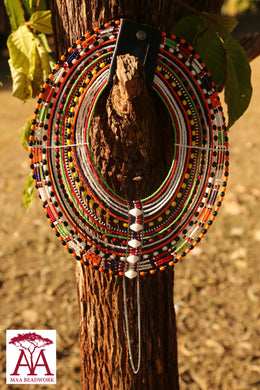 Emurragie Necklace in Traditional colors