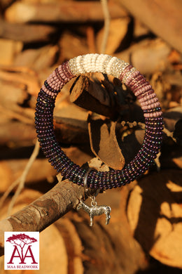 Enkirena Bracelet in Purple fading design