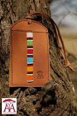 Luggage Tag in traditional colours