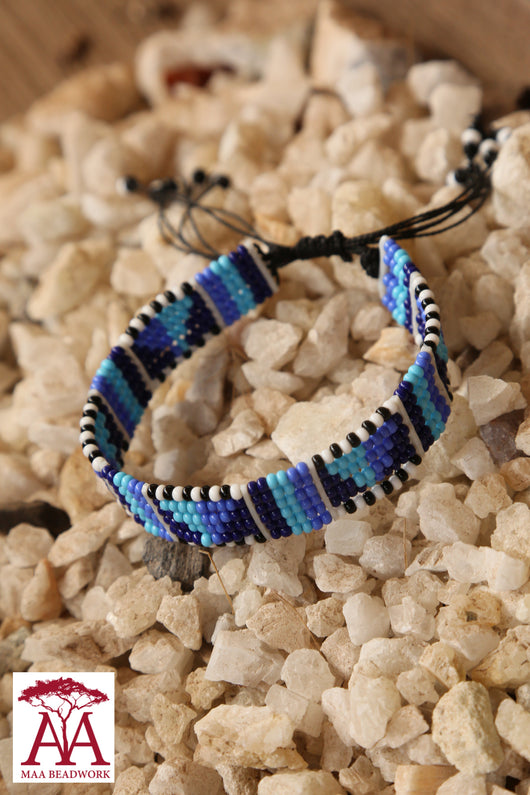 Enkatarr bracelet in blue