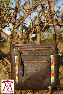 Maa Cross Body Bag in brown