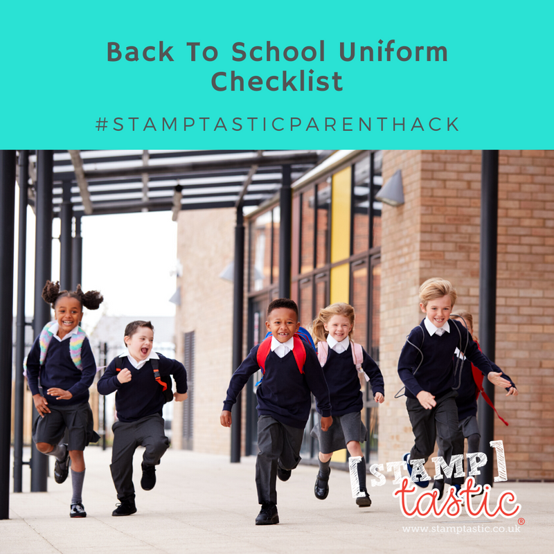 Back To School Uniform Checklist