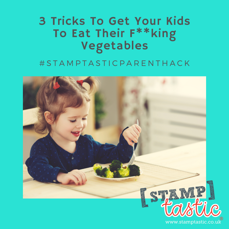 3 Tricks to Get Your Kids to Eat Their F**king Vegetables