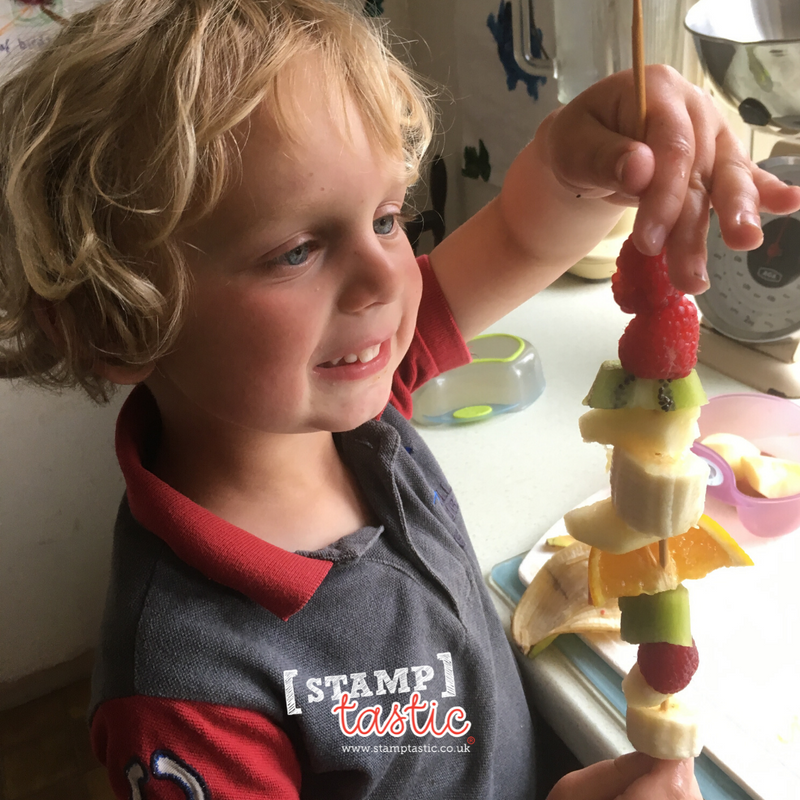 Starting School: Fruit Kebabs!