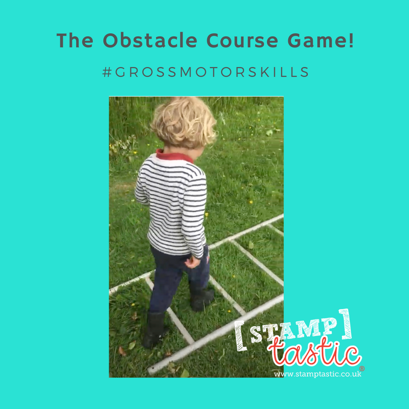 Practising Gross Motor Skills: The Obstacle Course Game