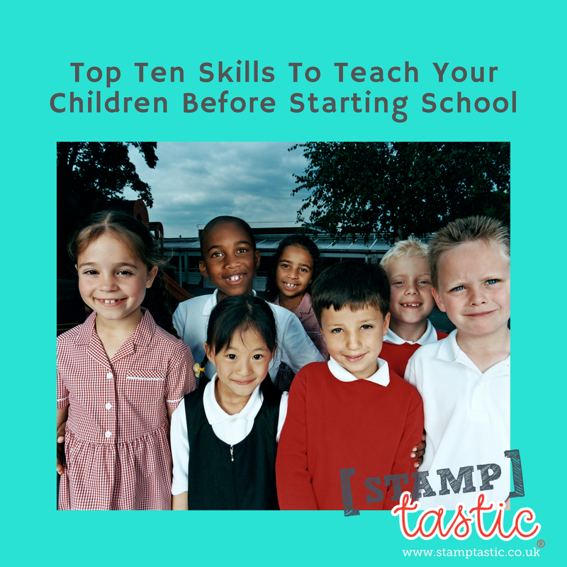 Top Ten Skills To Teach Your Children Before Starting School