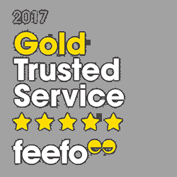 Feefo Gold Customer Service Award!!