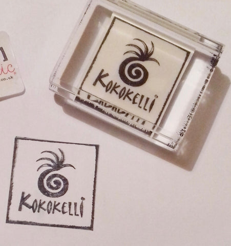 KokoKelli Custom Rubber Stamp