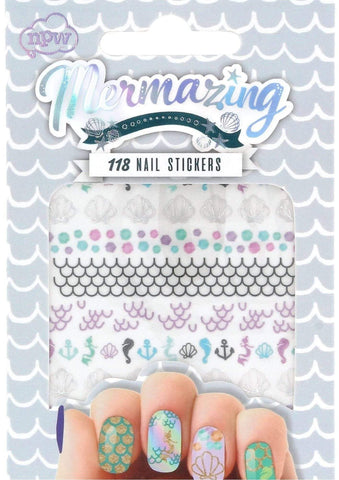 Mermaid Nail Stickers Stocking Filler