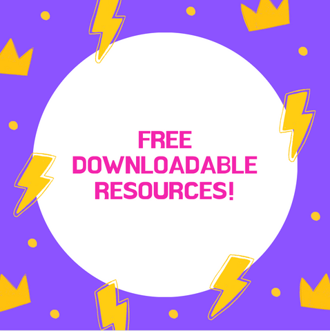 Starting School Free Downloadable Resources