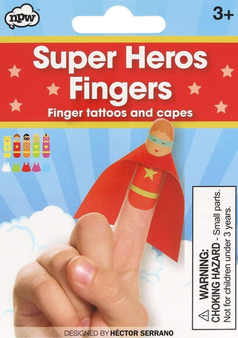 Super Hero Fingers Stocking Filler