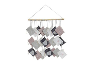 Scandinavian Style Advent Calendar - pastel sacks - stamptastic-uk