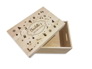 Winter Motif Christmas Eve Box - stamptastic-uk