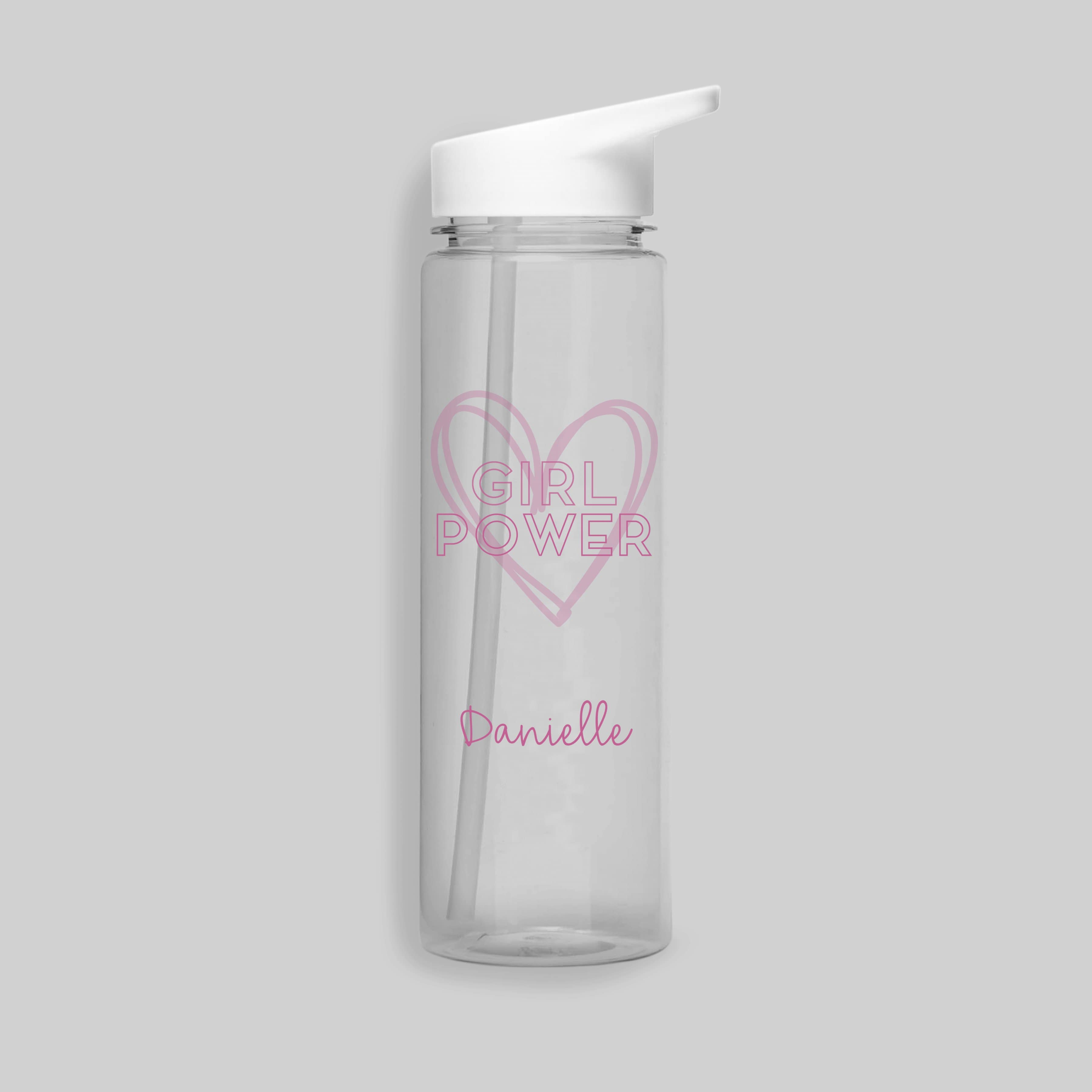 Girl Power Water Bottle - stamptastic-uk