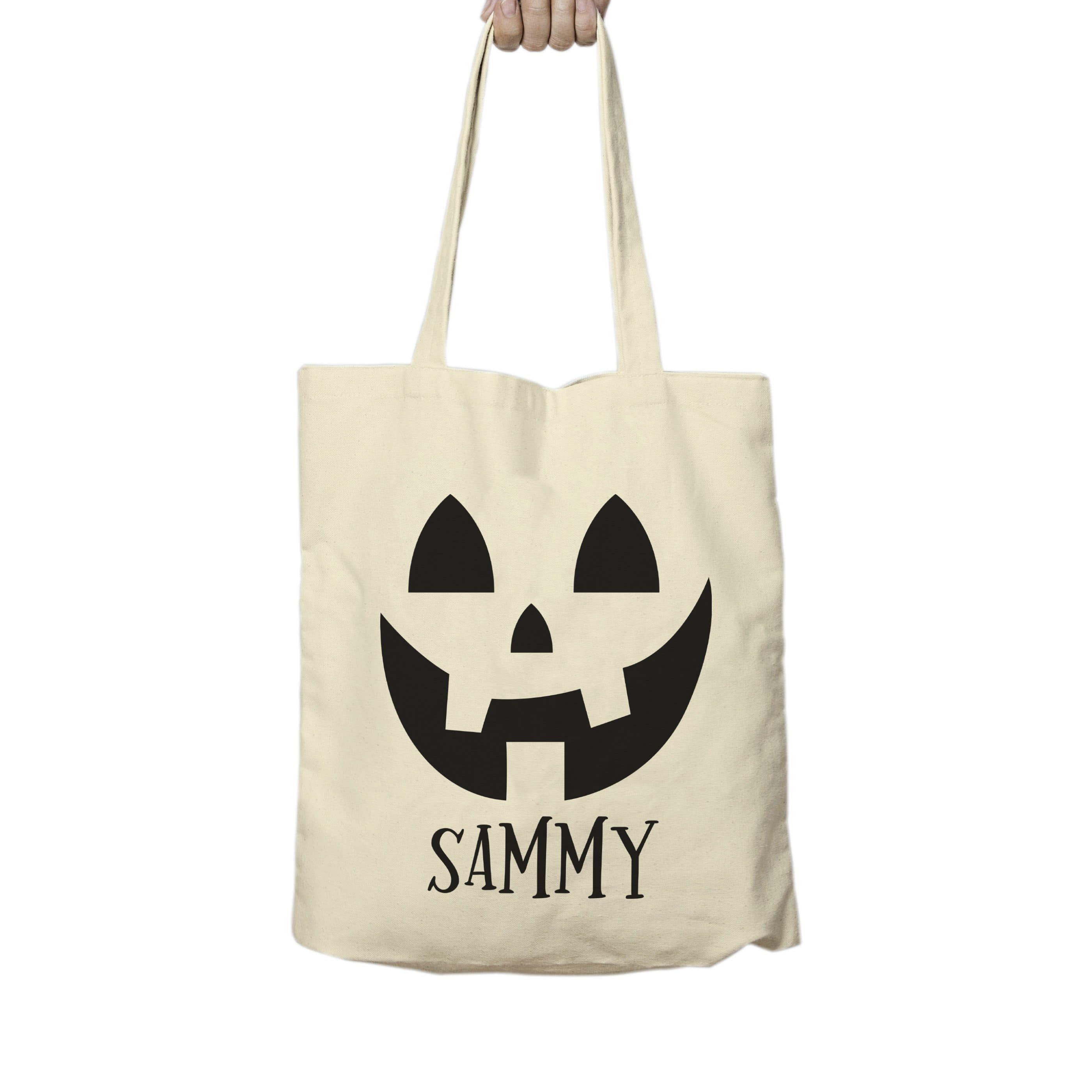 Pumpkin Halloween Treats Tote Bag - stamptastic-uk