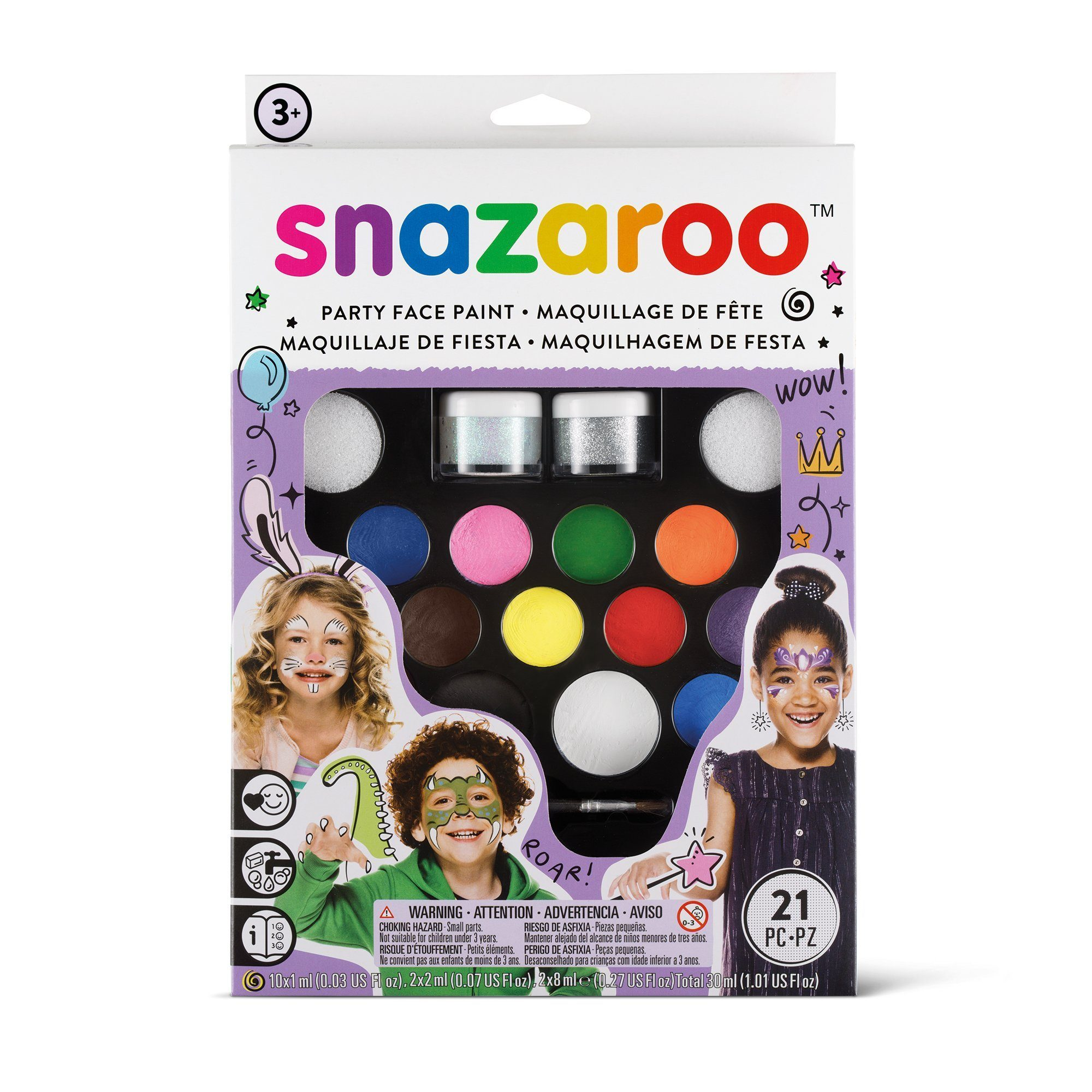Snazaroo Ultimate Party Pack - stamptastic-uk