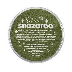 Snazaroo Sparkle Green Face & Body Paint - stamptastic-uk
