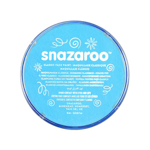Snazaroo Classic Turquoise Face & Body Paint - stamptastic-uk