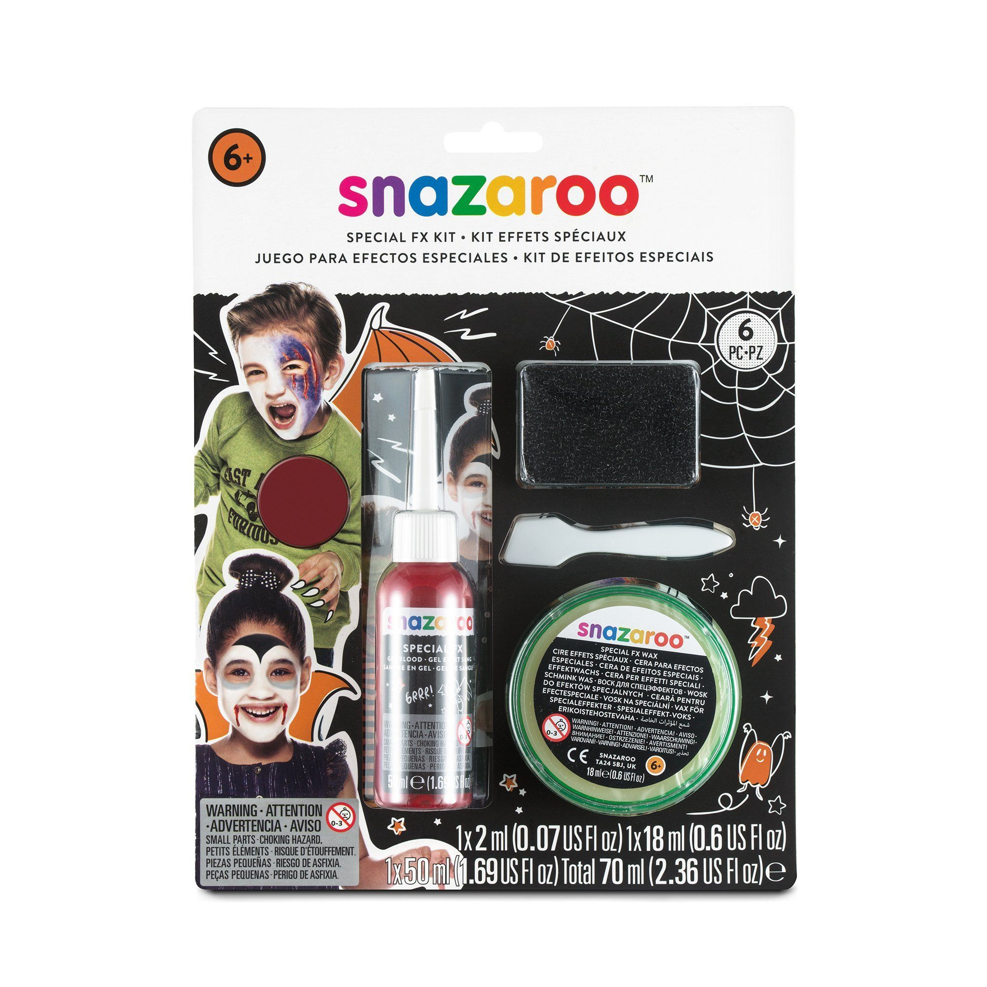 Snazaroo Special FX Facepaints - stamptastic-uk