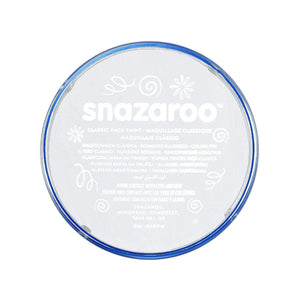 Snazaroo Classic White Face & Body Paint - stamptastic-uk