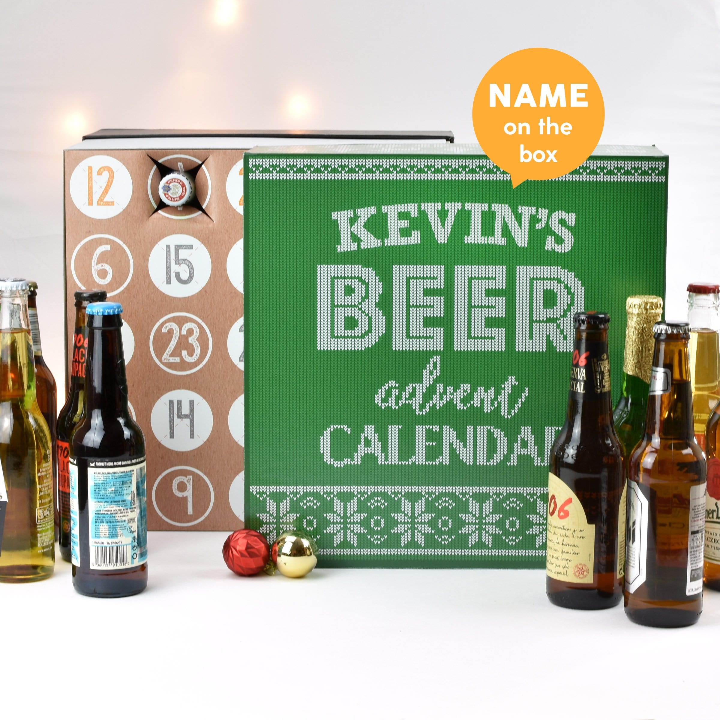 Personalised Beer Advent Box